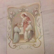 Postales: ANTIGUO RECORDATORIO 1ª COMUNIÓN AÑO 1908 S. SALVADOR, EL VENDRELL.. Lote 156399182