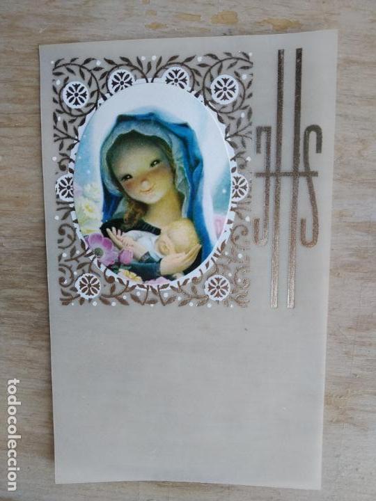 LOTE DE 13 ESTAMPITAS VINTAGE, SIN IMPRIMIR (Postales - Postales Temáticas - Religiosas y Recordatorios)