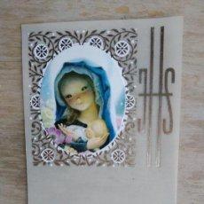 Postales - Lote de 13 estampitas vintage, sin imprimir - 156545706
