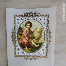 Postales - Lote de 10 estampitas vintage, sin imprimir - 156546734