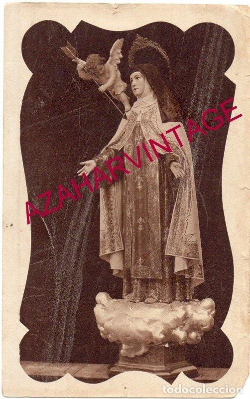 ANTIGUA POSTAL FOTOGRAFICA DE SANTA TERESA DE JESUS (Postales - Postales Temáticas - Religiosas y Recordatorios)