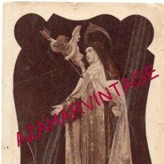 Postales: ANTIGUA POSTAL FOTOGRAFICA DE SANTA TERESA DE JESUS. Lote 156888114