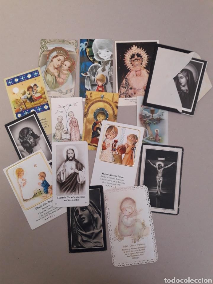 ANTIGUAS ESTAMPAS DE COMUNION. (Postales - Postales Temáticas - Religiosas y Recordatorios)