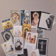 Postales: ANTIGUAS ESTAMPAS DE COMUNION.. Lote 157210468