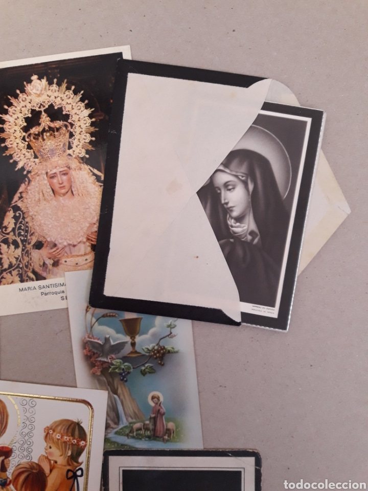 Postales: ANTIGUAS ESTAMPAS DE COMUNION. - Foto 2 - 157210468