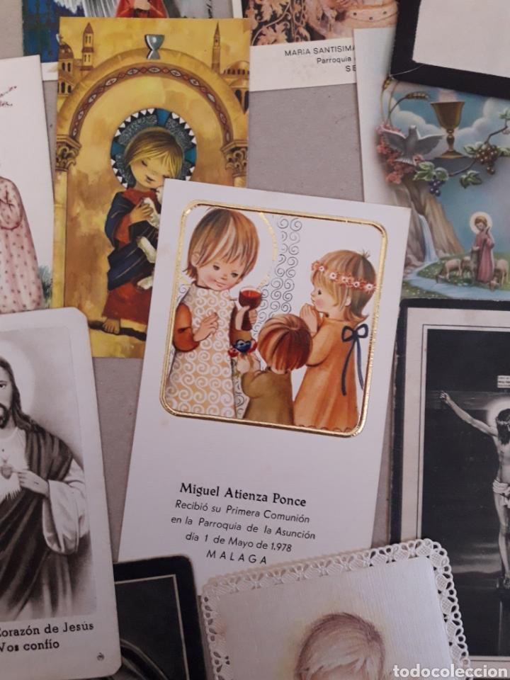 Postales: ANTIGUAS ESTAMPAS DE COMUNION. - Foto 4 - 157210468