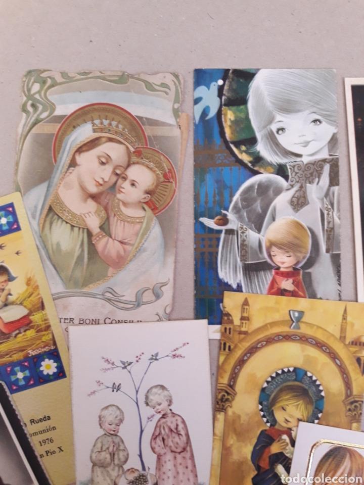 Postales: ANTIGUAS ESTAMPAS DE COMUNION. - Foto 5 - 157210468