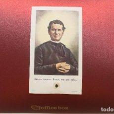 Cartoline: RELIQUIA, ESTAMPA SAN JUAN BOSCO, 10,50X6 CM. Lote 157283662