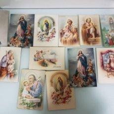 Postales: LOTE ANTIGUAS POSTALES RELIGIOSAS. Lote 157298562