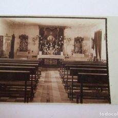 Postales: POSTAL CAPILLA DEL SAGRADO CORAZON DE JESUS - MALAGA - DATADA 1934 - ESCRITA SIN CIRCULAR. Lote 157921306