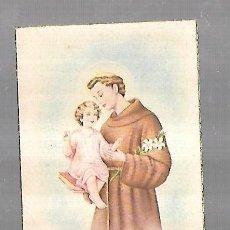Postales: TARJETA POSTAL RELIGIOSA. SAN ANTONIO DE PADUA.. Lote 158523842