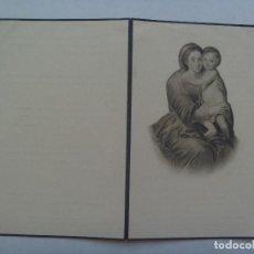 Postales: RECORDATORIO DE SEÑORA VIUDA FALLECIDA EN 1951 . MADRID. Lote 158606830
