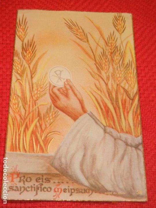 RECUERDO INAUGURACION TURNO SAN GENIS ADORACION NOCTURNA, BARCELONA 1956 (Postales - Postales Temáticas - Religiosas y Recordatorios)