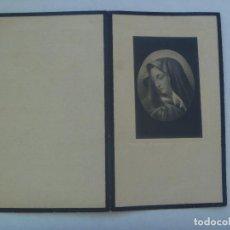 Postales: RECORDATORIO DE SEÑORA VIUDA FALLECIDA EN 1950. Lote 158870022