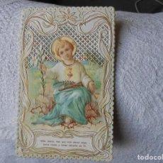 Cartes Postales: ANTIGUA ESTAMPA DEL NIÑO JESÚS. Lote 159098274