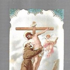 Postales: ESTAMPITA RELIGIOSA. SAN FRANCISCO DE ASIS.. Lote 159212806