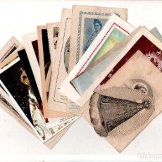 Postales: LOTE DE 16 ESTAMPITAS RELIGIOSAS. VER FOTOS.. Lote 159499890