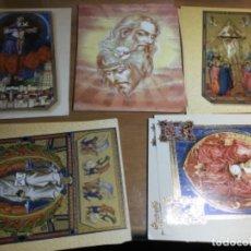 Postales: 14 POSTALES RELIGIOSAS MADE ITALY DE MANUEL GERVASINI 25 X 20 CMS. Lote 159815146