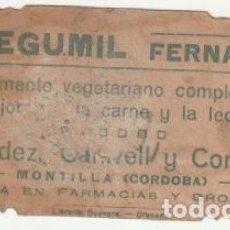 Postales: ESTAMPA SANTA ROSA DE LIMA PUBLICIDAD CEREGUMIL MONTILLA CORDOBA - -D-5. Lote 159844406