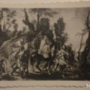 Postales: RECUERDO PROCESION IMPEDIDOS.HERMANDAD SANTA MAGDALENA SEVILLA 1953. Lote 160419982