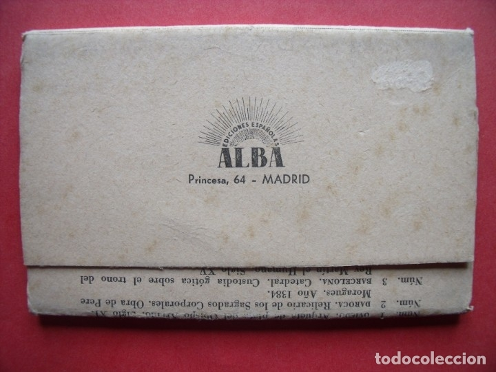 Postales: EXPOSICION NACIONAL DE ARTE EUCARISTICO ANTIGUO.-ALBA.-BLOC DE 10 POSTALES.-OVIEDO.-DAROCA.-CUENCA. - Foto 5 - 160572526