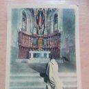 Postales: POSTAL ALTAR MAYOR ABADÍA CISTERCIENSE PALENCIA. Lote 160682622