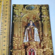 Postales: HAGA SU OFERTA - POSTAL SEMANA SANTA - AVILA - SANTA TERESA DE AVILA . Lote 160796506
