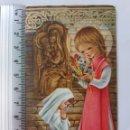 Postales: RECORDATORIO RELIGIOSO AÑOS 70 PRIMERA COMUNIÓN.S.S3 REBOK. Lote 161121148