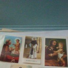 Postales: LOTE DE ESTAMPAS RELIGIOSAS .. Lote 161281565