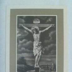 Postales: RECORDATORIO DE SEÑORA FALLECIDA EN MADRID EN 1977. Lote 161478114