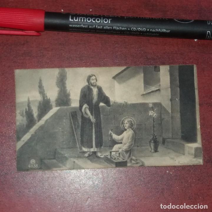 ESTAMPA AÑO 1939 -RECORDATORIO PRIMERA MISA -ALZIRA -VALENCIA - VER DETALLES (Postales - Postales Temáticas - Religiosas y Recordatorios)