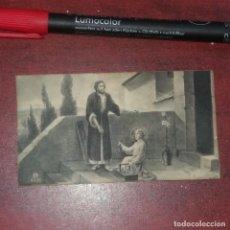 Postales: ESTAMPA AÑO 1939 -RECORDATORIO PRIMERA MISA -ALZIRA -VALENCIA - VER DETALLES. Lote 162108250