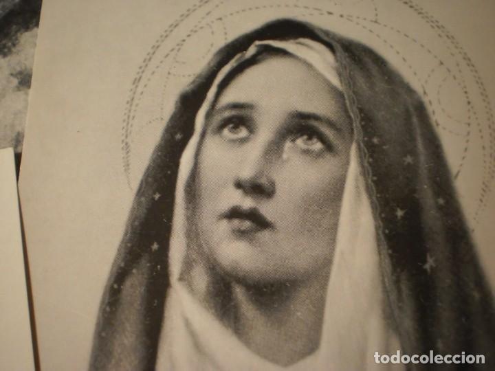 Postales: Lote de 29 estampas y postales religiosas antiguas - Foto 13 - 162280678