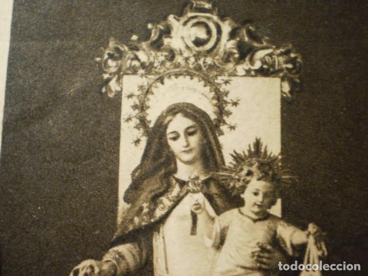 Postales: Lote de 29 estampas y postales religiosas antiguas - Foto 17 - 162280678