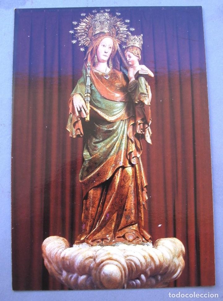 POSTAL MONTBLANC - 6 - MARE DE DEU DE LA SERRA S.XIII (RAYMOND, SIN CIRC, AÑOS 70 APROX) (Postales - Postales Temáticas - Religiosas y Recordatorios)