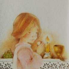 Postcards - P124 - ROSER PUIG - EDICIONES BUSQUETS 01.09.041.1- PRECIOSO RECORDATORIO SIN IMPRIMIR - 81146144