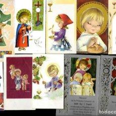 Postales: 10 RECORDATORIOS COMUNION * CONSTANZA * - LOTE 111. Lote 163970890