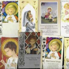 Postales: 10 RECORDATORIOS COMUNION * CONSTANZA * - LOTE 113. Lote 163973574