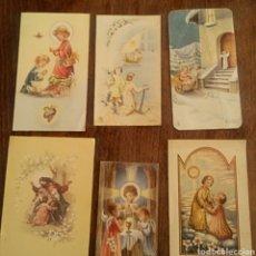 Postales: ESTAMPAS RELIGIOSAS. RECORDATORIO PRIMERA COMUNION. AÑOS 50 Y 60. Lote 164145234