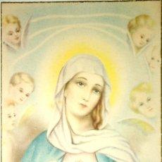 Postales: TARJETA POSTAL RELIGIOSA. INMACULADO CORAZON DE LA VIRGEN MARIA.. Lote 164334618