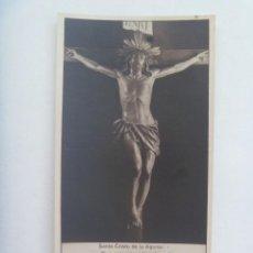 Postales: ESTAMPA ( FOTOGRAFICA ) ANTIGUA DEL SANTO DE CRISTO DE LA AGONIA DE LIMPIAS. Lote 222600986
