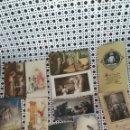Postales: 15 ANTIGUOS RECORDATORIOS DE LA DÉCADA DE 1930. Lote 164967662
