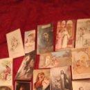 Postales: 15 ANTIGUOS RECORDATORIOS DE LA DÉCADA DE 1940. Lote 164981109