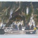 Postales: POSTAL FOTOGRAFICA DE LOURDES ( FRANCIA ) : VIRGEN . AÑOS 50 . CENTENARIO DE LAS APARICIONES. Lote 164989206