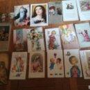 Postales: 20 ANTIGUOS RECORDATORIOS DE LA DÉCADA DE 1960. Lote 165058926
