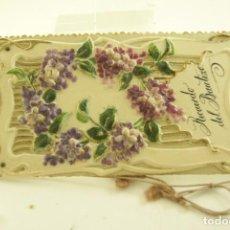 Postales: RECUERDO DEL BAUTIZO TROQUELADA RELIEVE CELULOIDE 1906 BUEN ESTADO. Lote 165996914