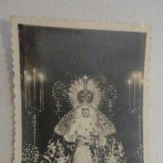 Postales: RECUERDO SOLEMNE SEPTENARIO.VIRGEN ESPERANZA MACARENA SEVILLA 1948. FOTOGRAFICA.. Lote 167549616