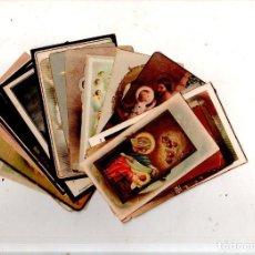 Postales: LOTE DE 25 ESTAMPITAS RELIGIOSAS. DIFERENTES VARIADAS. VER FOTOS.. Lote 167806976