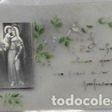 Postales: ESTAMPA ANTIGUA CELULOIDE -PINTADA A MANO. Lote 167809720
