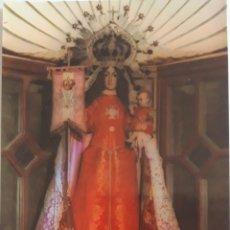 Postales: POSTAL NTRA. SRA. DE LAS VICTORIAS PATRONA DE TETUAN. MADRID. ORACIÓN E HIMNO. Lote 167869874